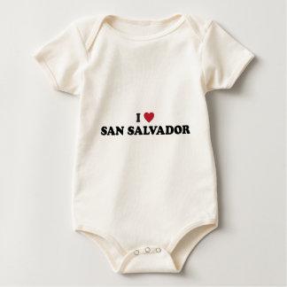 I Heart San Salvador El Salvador Baby Bodysuit