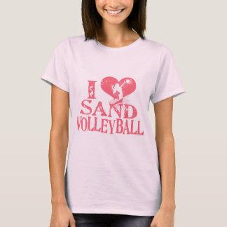 I Heart Sand Volleyball T-Shirt