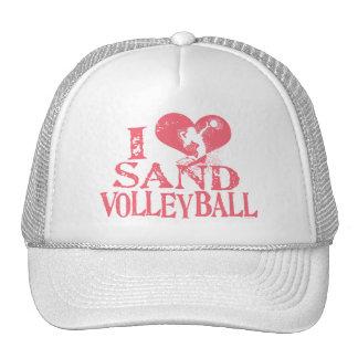 I Heart Sand Volleyball Trucker Hat