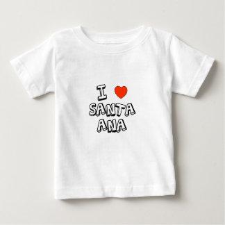I Heart Santa Ana Baby T-Shirt
