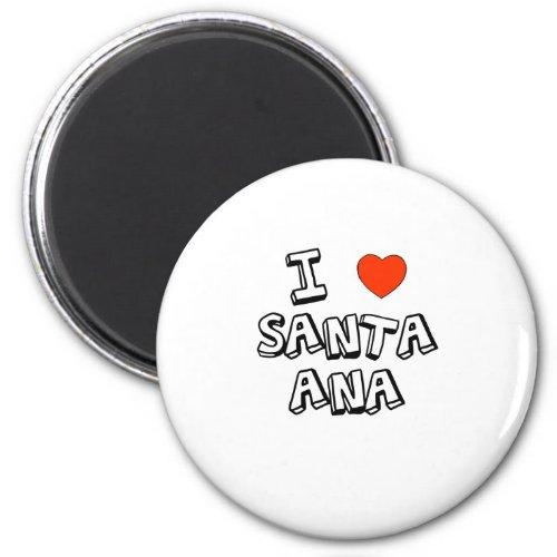 I Heart Santa Ana Magnet