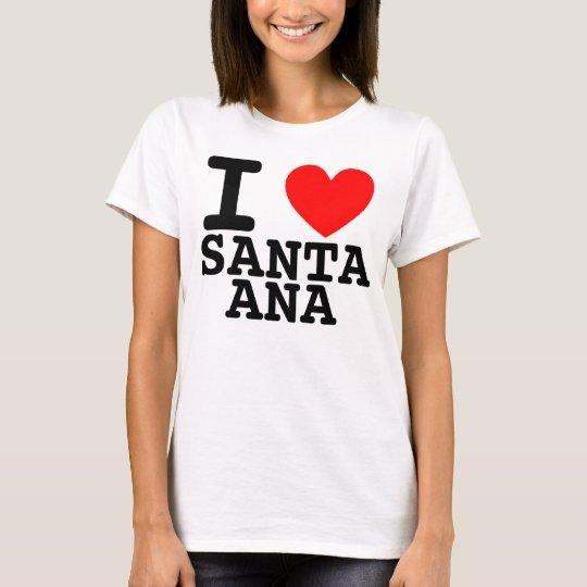 I Heart Santa Ana Shirt
