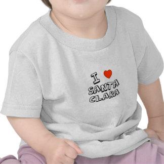I Heart Santa Clara Tshirt