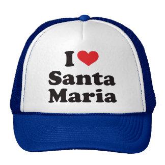 I Heart Santa Maria Trucker Hat