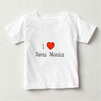 I Heart Santa Monica Baby T-Shirt