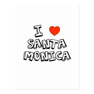 I Heart Santa Monica Postcard