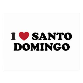 I Heart Santo Domingo Dominican Republic Postcard