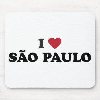 I Heart Sao Paulo Brazil Mouse Pad