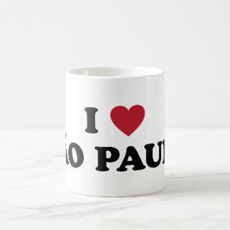 I Heart Sao Paulo Brazil Mugs