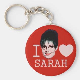 I Heart Sarah Palin Basic Round Button Keychain