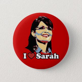 I heart Sarah Palin button color