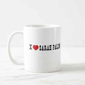 I (Heart) Sarah Palin Coffee Mug