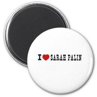 I (Heart) Sarah Palin 2 Inch Round Magnet
