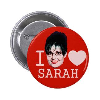 I Heart Sarah Palin Pinback Button
