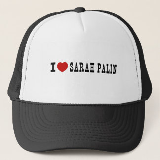 I (Heart) Sarah Palin Trucker Hat