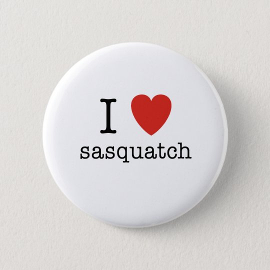I Heart Sasquatch Pinback Button