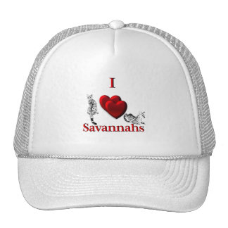 I Heart Savannahs Trucker Hat