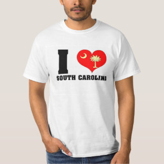 'I *heart* SC' Value T-Shirt, White T-Shirt