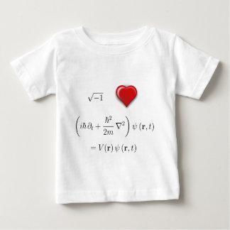 I heart Schrodinger equation Baby T-Shirt