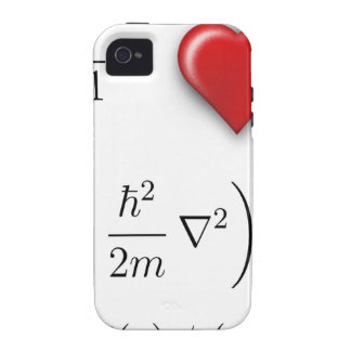 I heart Schrodinger equation Vibe iPhone 4 Covers