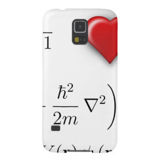 I heart Schrodinger equation Galaxy S5 Case