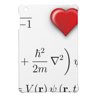 I heart Schrodinger equation Cover For The iPad Mini