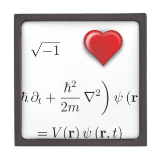 I heart Schrodinger equation Premium Gift Box