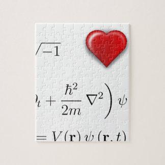 I heart Schrodinger equation Jigsaw Puzzles