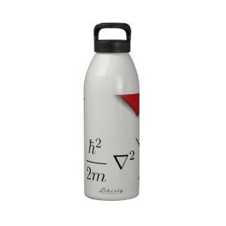 I heart Schrodinger equation Water Bottles