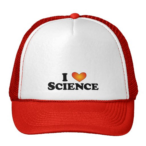 I (heart) Science - Lite Multi-Products Trucker Hat