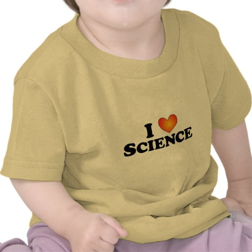 I (heart) Science - Lite Multi-Products Shirt