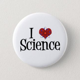 I Heart Science Pinback Button