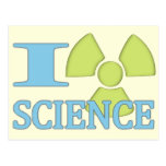 I Heart Science Post Card