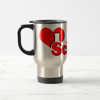 I Heart Science Travel Mug