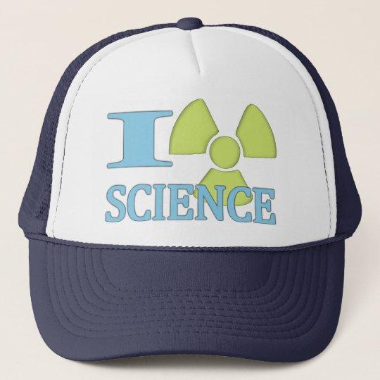 I Heart Science Trucker Hat