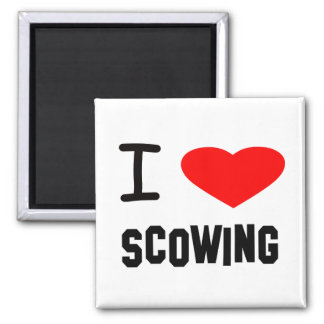 I Heart scowing Magnet