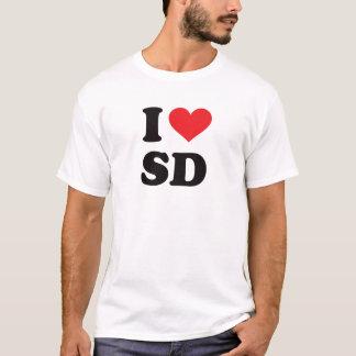 I Heart SD - South Dakota T-Shirt