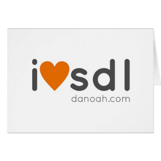 i heart sdl card