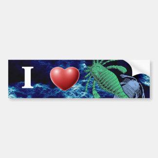 I Heart Sea Scorpions Bumper Sticker