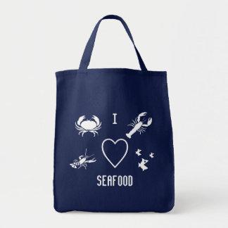 I Heart SeaFood Tote Bag