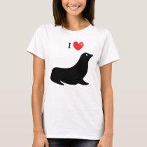 """I Heart Seal"" T-Shirt"