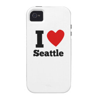 I Heart Seattle Vibe iPhone 4 Cases