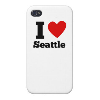 I Heart Seattle iPhone 4 Covers