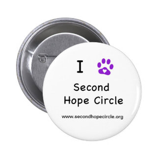I Heart Second Hope Circle Buttons