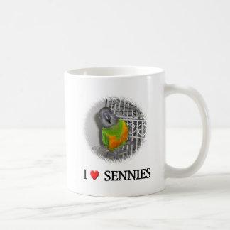 "I ""heart"" sennies classic white coffee mug"