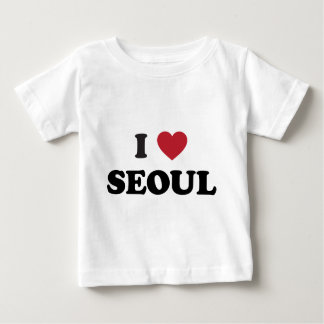 I Heart Seoul South Korea Baby T-Shirt