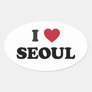 I Heart Seoul South Korea Stickers