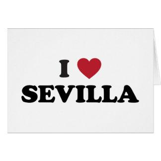 I Heart Sevilla Spain Card