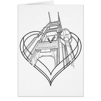 I Heart SF Greeting Cards