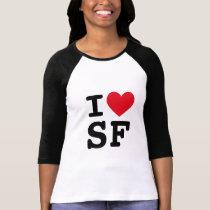 I Heart SF Monogram T-Shirt